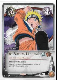 Sand Card 2002 Naruto Ccg Tcg Card Game Naruto Uzumaki Rare Eat This