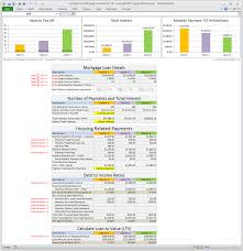 Excel Mortgage Spreadsheet Excel Spreadsheet Mortgage Calculator Uk Payment Template