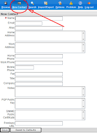 Earthnet Support Center - E-Mail - How To Use Your Address Book