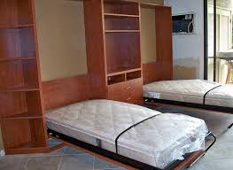 twin wall beds