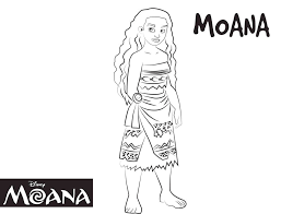 Disney S Moana Coloring Pages Sheet