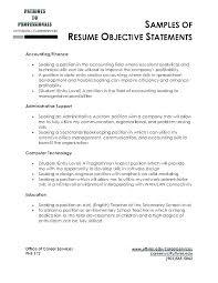 Good General Objective For Resume Administrativelawjudge Info