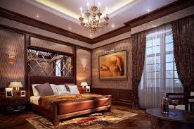 romantic master bedroom with canopy bed. White Netting With Bed Mattress Red Curtain Canopy Simple Brown Nightstands Table Floating Tv Romantic Master Bedroom T