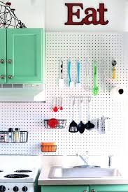 Pegboard Kitchen Backsplash Ideas