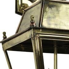 balm large brass 3 light victorian downward outdoor wall lantern