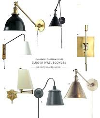 bedroom wall sconces plug in.  Wall Bedroom Sconce Plug In Wall Lamps S Credible For Target  Lights Sconces   With Bedroom Wall Sconces Plug In L
