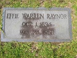 Effie Warren Raynor (1894-1968) - Find A Grave Memorial