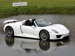 918 spyder white. 2015 porsche 918 spyder carrera white with black leather