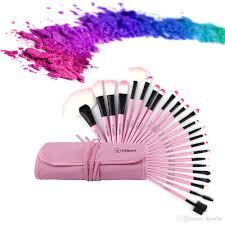 new makeup brushes set pink beauty stylish cosmetics eyebrow shadow powder pincel make up maquiagem tools pouch bag professional makeup artist