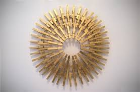 clothespin large cool starburst wall