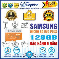 Thẻ nhớ Samsung 128GB – MicroSD SAMSUNG EVO PLUS 128GB – CHÍNH HÃNG – Bảo  hành 5 năm – Kèm Adapter - Thẻ nhớ và bộ nhớ mở rộng