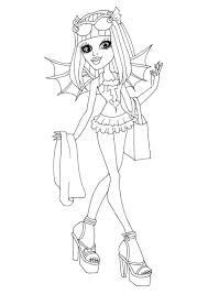 Small Picture Monster High Rochelle Goyle ColouringBratzMonster High