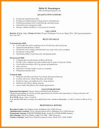 Skills Based Resume Example Unique Of Cv Template Nz Skill Examples
