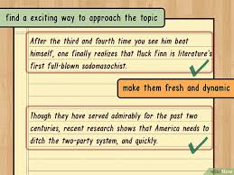 Как написать тезисы wikihow Изображение с названием write a thesis statement step 4