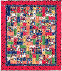 Dinorama Rag Quilt Free Pattern: Robert Kaufman Fabric Company &  Adamdwight.com