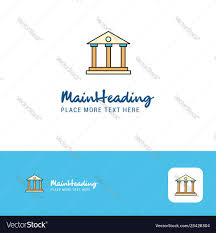 Villa Logo Design Creative Villa Logo Design Flat Color Logo Place