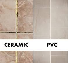 pvc panels vs ceramic tiles