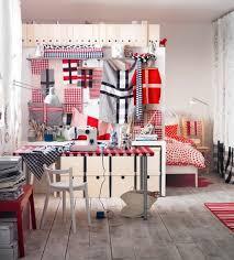 Red White Hobby Room
