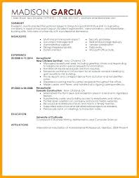 Things To Put On A Resume Delectable What To Put Resume In Gallery Free Resume Templates Word Download