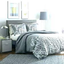blue grey comforter set light and gray bedding pattern crib