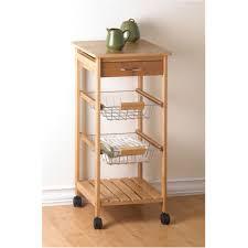 superb trendy kitchen cart with wire baskets kitchen cart home kitchen