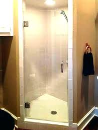 removing shower door replace a shower door how to install shower door sweep single glass inside
