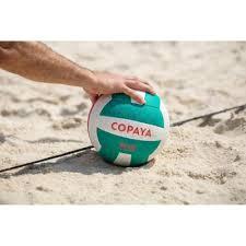 <b>COPAYA</b> BV500 Beach Volleyball - Green/Pink | Decathlon