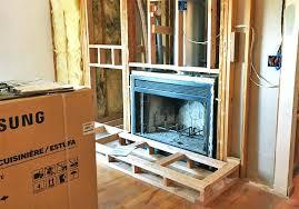 gas fireplace to wood burning fireplace to gas burning insert remodel wood burning fireplace gas starter