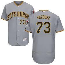 Grey Base Pirates Men's Baseball Felipe 1652319 Jersey Flex Road Jersey 73 Sale Pittsburgh Authentic Vazquez bbcedddfeefdd|Titans Set To Face Patriots In AFC Divisional Round