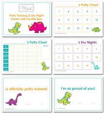Dinosaur Potty Training Reward Chart Boys Potty Training Online Charts Collection