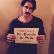 Colin farrell support gay marriage
