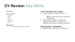 Key Account Manager Resume Examples Of Skills And Abilities Sales