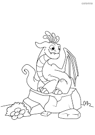 How about framing it to display in the room of a child born in a dragon year? Dragons Coloring Pages Free Printable Dragon Coloring Sheets