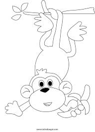Disegno Scimmia Con Banana Tuttodisegnicom