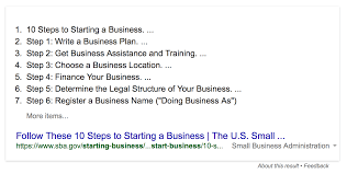 10 Steps To Start A Business And Why The Sbas List Is