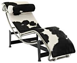 awesome le corbusier lc4 chaise lounge chair in pony leather le for lc4 chaise lounge ordinary