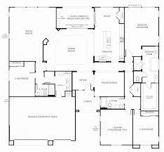 splendid 4 bedroom house plans one story lovely house plans single story 4 4 bedroom house
