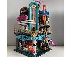 LEGO MOC Ninjago City Extension: Karaoke Bar by cjtonic | Rebrickable -  Build with LEGO