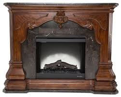 aico michael amini tuscano melange fireplace victorian indoor fireplaces by unlimited furniture group