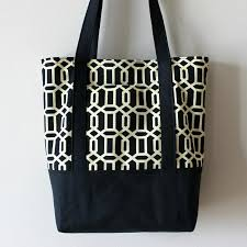 Tote Bag Pattern Custom Free Tote Bag Pattern To Sew At Home