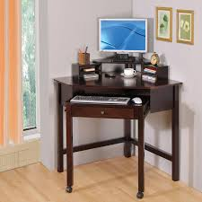 desk for small office. Keyboard Mouse Corner Desk Small Computer Monitor Blue Screen Wooden Varnished Lacquired Awesome Photos On Wall For Office R