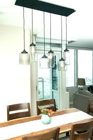 lighting above kitchen table pendant