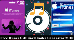 free itunes gift card codes generator 2017