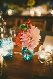 Blue Mason Jars Wedding Decor Something Blue 100 Rustic Blue Mason Jars Wedding Ideas Deer 41
