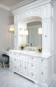 Bathroom Storage White Bathroom Cabinet With Drawers Off White