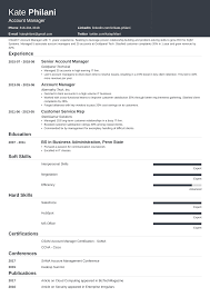 resume for account manager account manager resume sample and writing guide 20 examples