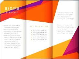 Fold Brochure Template Word Tri Fold Travel Brochure