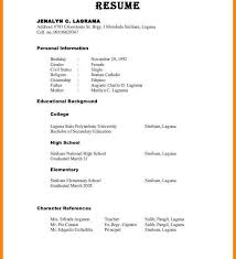 How To Write References In Resume Stunning 8924 Resume Templates How Do You Formateferences On To Your Page For