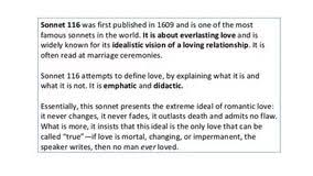 essay on sonnet essay about yesterday today and tomorrow essay on sonnet 116