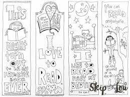 Create colorful bookmarks for all those best halloween books for kids in your home library. Bookmarks Coloring Pages Coloring Home